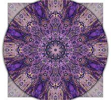 Crown Chakra Mandala 1a by haymelter