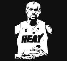 Lebron James by awessell526