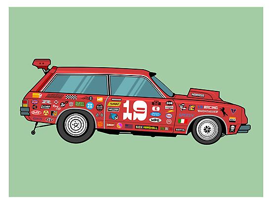 Racer by HAZZAH