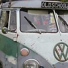 old school vw bus by Perggals© - Stacey Turner