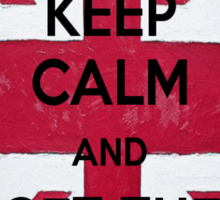 Keep Calm and Get The London Look Sticker