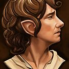 Bilbo Baggins by Brad Collins