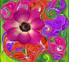Vintage Flower Child by Kathie McCurdy