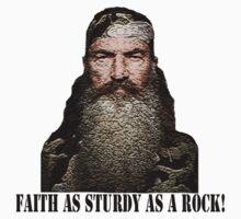Faith as Sturdy as a Rock  Kids Clothes