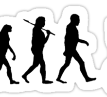 Biker Evolution Sticker
