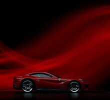 Larger Than Life: Ferrari F12 Berlinetta by Benjamin Lim
