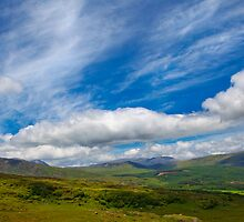 Welsh skies by Dave Hare