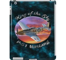 P-51 Mustang King of the Sky iPad Case/Skin