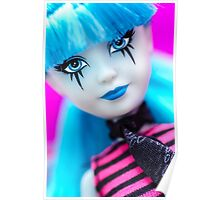 Punk Gothic Doll Poster