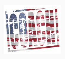 Coach Stars and stripes rubber stamp effect by stuwdamdorp