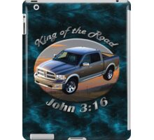 Dodge Ram Truck King of the Road iPad Case/Skin
