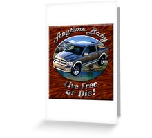 Dodge Ram Truck Anytime Baby Greeting Card