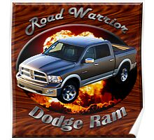 Dodge Ram Truck Road Warrior Poster