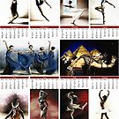 2014 Fine Art Dancer Calendar by Richard Young