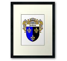 Jenkins Coat of Arms/Family Crest Framed Print