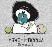 Have-i-Needs Havanese Kids Clothes