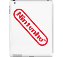 Nintenho Parody Logo Video Gamer iPad Case/Skin