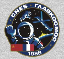 Soviet Mission Patch- Soyuz TM 7 by cadellin
