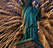 Liberty Fireworks by Steve Purnell