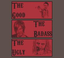 The good ,The badass , The ugly by icemanire