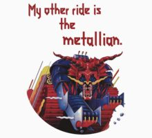 My Other Ride is the Metallian - Judas Priest by queenofthebrine