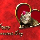 Sweetest Day Ferret by jkartlife