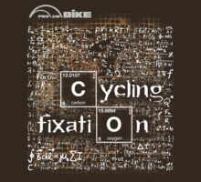Cycling T Shirt - Cycling Fixation by ProAmBike