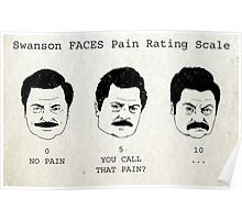 Swanson FACE Pain Rating Scale Poster