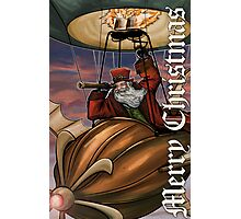 Steampunk Santa Claus Photographic Print