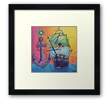 The Universal Pirate Ship #81 Framed Print