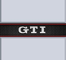 GTI Phone & iPad case - silver by Benjamin Whealing