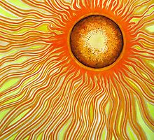 abstract - the sun by kukkamoon