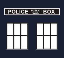 Police Public Call Box - Tardis  by SwanStarDesigns