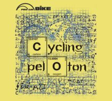 Cycling T Shirt - Cycling Peloton by ProAmBike