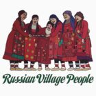 Russian Village People design by ethnographics
