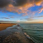 S. Brouhard Beach at Sunset - Venice, FL by T.J. Martin