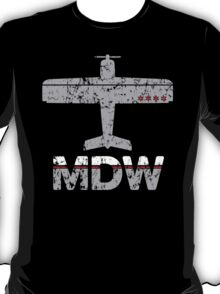 Fly Chicago MDW Airport T-Shirt
