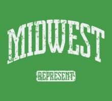 Midwest Represent (White Print) by smashtransit