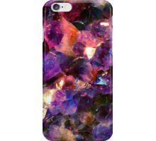 Magic gems dreamy purple iPhone Case/Skin