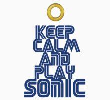 Sega Sonic Tshirt  Kids Clothes