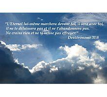 Deut. 31:8 fr2 Photographic Print