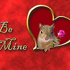Be Mine Squirrel by jkartlife
