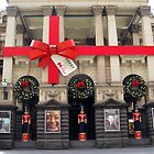 Melbourne Townhall ready for Christmas 2013 by Bev Pascoe