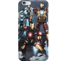 "Iron Man ""Landing"" Superhero Scene by Dheeraj Verma iPhone Case/Skin"