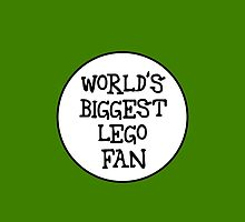 WORLD'S BIGGEST ........ FAN, by Chillee Wilson from Customize My Minifig by ChilleeW