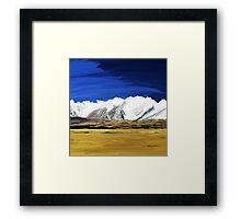 Yin and Yang Over Tibet Framed Print