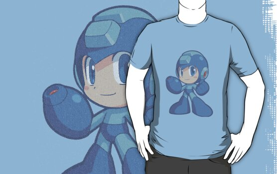 Megaman Powered up!! by PaulMRyan