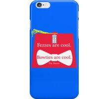 The Doctor and his Fez iPhone Case/Skin