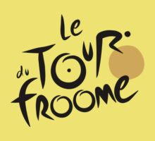 Le Tour du Froome (Black) Kids Clothes