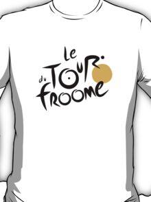 Le Tour du Froome (Black) T-Shirt